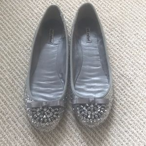 Not Rated sequined Flats